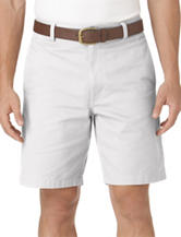 Chaps Men's Big & Tall Solid Color Flat Front Shorts