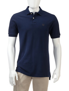 Chaps Navy Piqué Polo Shirt