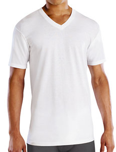Fruit of the Loom 4-pk. White V-Neck T-Shirt