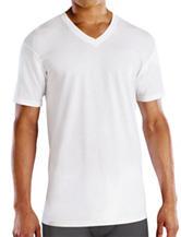 Fruit of the Loom 4-pk. White V-Neck T-Shirt