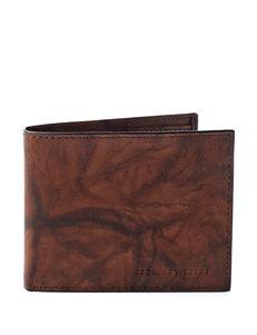 Geoffrey Beene Brown Bi-fold Wallets