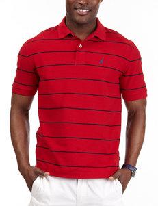 Nautica Striped Polo Shirt