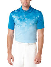 PGA Tour® Prism Argyle Printed Polo Shirt