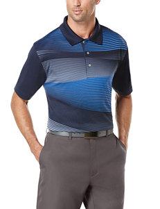 PGA Tour® Printed Wave Golf Polo Shirt