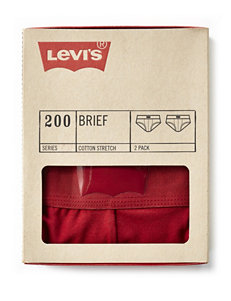 Levi's® 2-pk. Solid Color Briefs