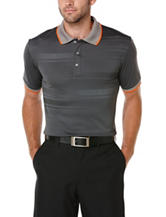 PGA Tour® Faded Print Grey Performance Polo Shirt