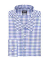 Arrow Gingham Plaid Dress Shirt