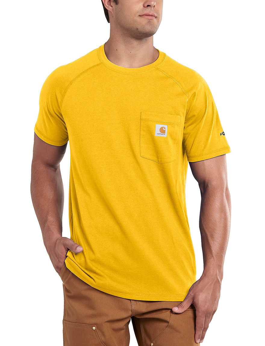Carhartt Yellow Tees & Tanks