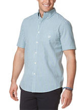 Chaps Men's Big & Tall Seersucker Woven Shirt