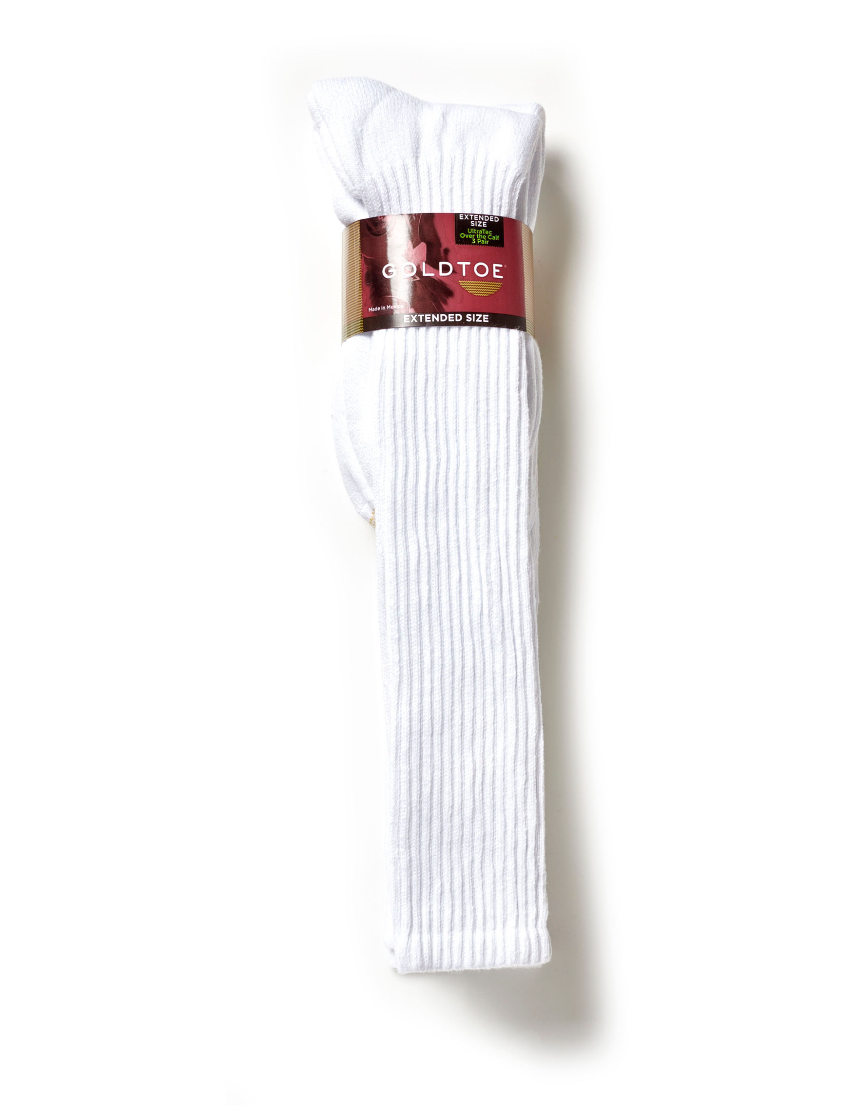 Gold Toe White Socks