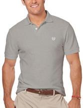 Chaps Solid Color Pique Polo Shirt