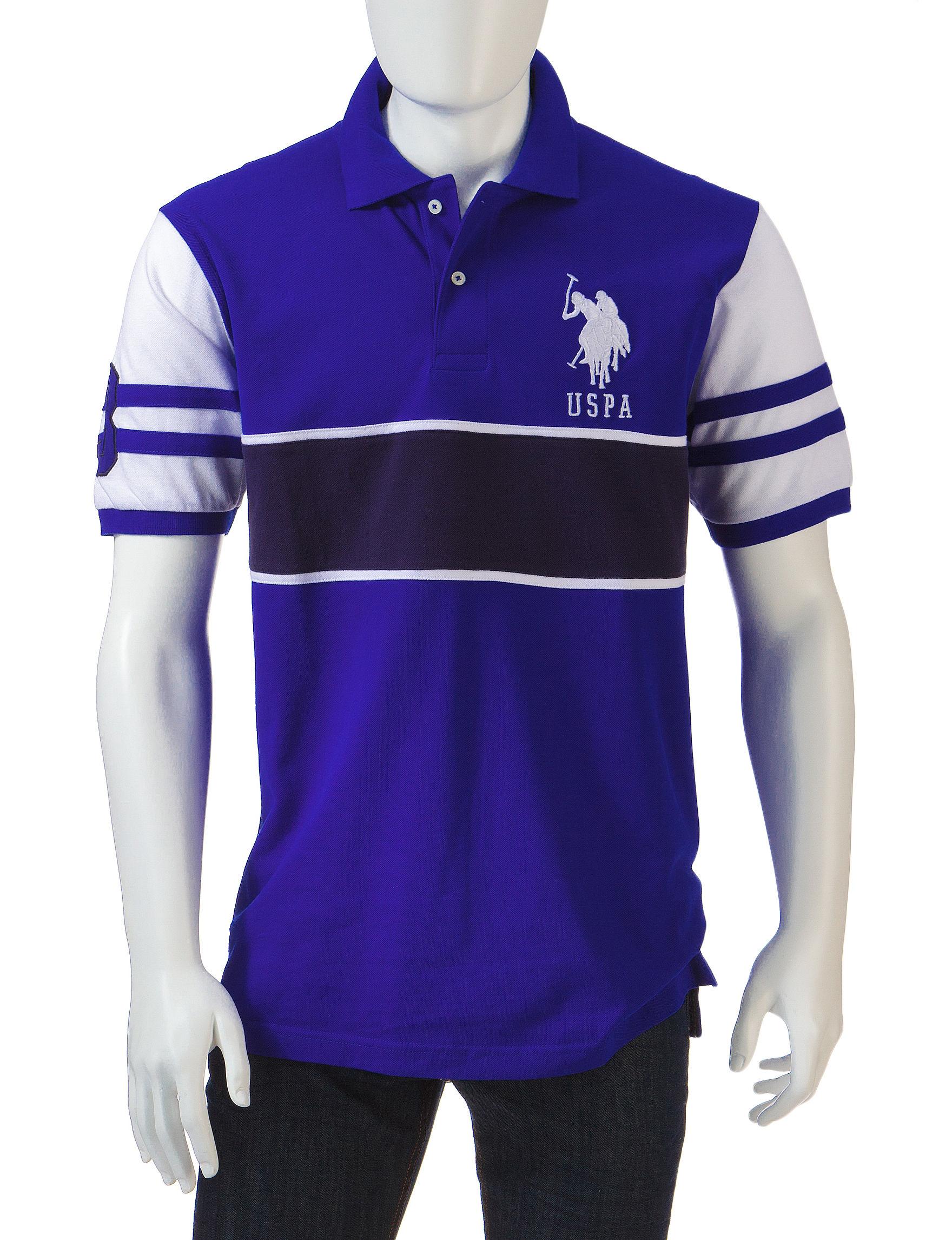 U.S. Polo Assn. Blue Polos