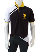 U.S. Polo Assn. Fashion Color Block Polo Shirt