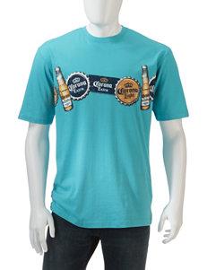 Sun River Corona Extra  Beer Cap T-Shirt