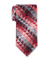 Van Heusen Leonard Geometric Print Tie