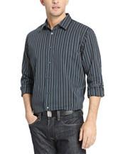 Van Heusen Night Stripe Woven Sports Shirt