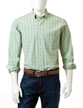 Izod Windowpane Woven Shirt