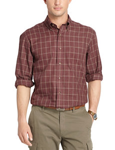 Arrow Red Casual Button Down Shirts