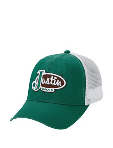 Justin Boots Green Hats & Headwear
