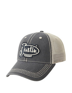 Justin Boots Charcoal Hats & Headwear