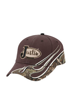 Justin Boots Brown Hats & Headwear