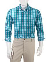 Sun River Multicolor Plaid Woven Sport Shirt