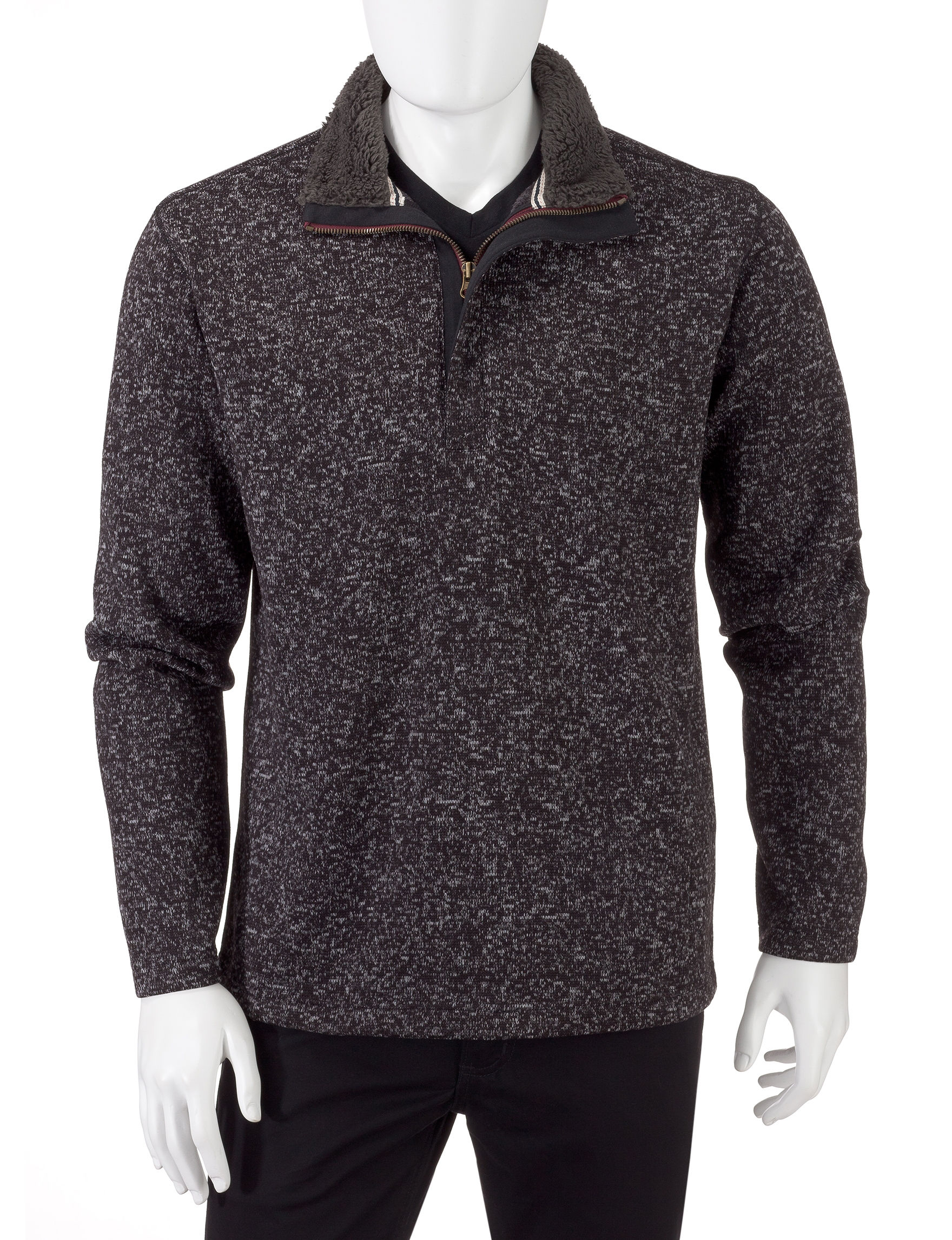 Weatherproof Black Sweaters