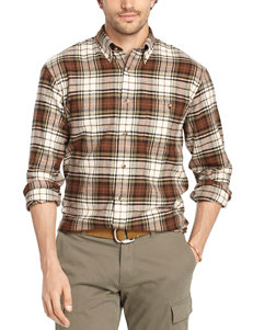 Arrow Oyster Grey Casual Button Down Shirts