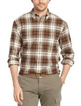 Arrow Plaid Flannel Shirt