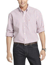Izod Big & Tall Essential Woven Plaid Shirt