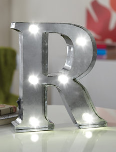 LED Marquee Letter R Sign