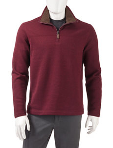 GH Bass Red Pull-overs Sweaters