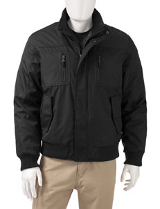 Calvin Klein Black Fleece & Soft Shell Jackets