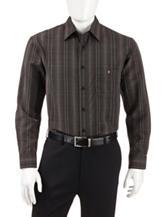 Haggar Striped Woven Shirt
