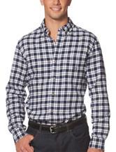 Chaps Plaid Flannel Woven Shirt