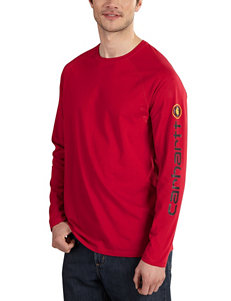 Carhartt Crimson Tees & Tanks