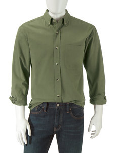 Sun River Olive Military Green Dress Shirts