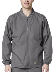 Carhartt® Solid Color Ripstop Zip Front Jacket
