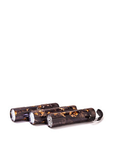 Outdoors by Totes® 3-pk. Bottle Opener Camo Print Flashlights