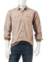 Earthletics Realtree® Xtra Ripstop Silver Birch Woven Shirt
