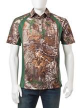 Earthletics Realtree® Xtra Camo Print Polo Shirt
