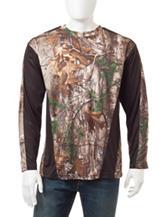 Earthletics Realtree® Xtra Camo Print Active Knit Shirt