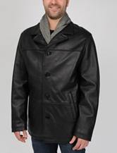 Excelled Lamb Leather Car Coat