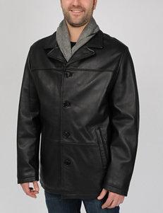 Excelled Black Car Coats