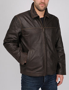 Excelled Rugged Genuine Leather Jacket