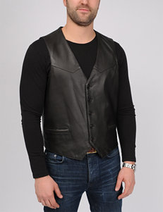 Excelled Big Lamb Leather Vest