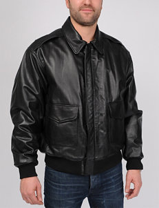 Excelled Big A-2 Leather Bomber Jacket