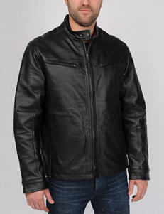 Excelled Tall Nappa Leather Racer Jacket