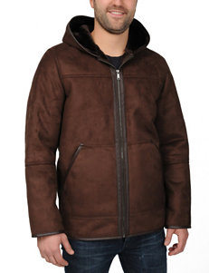 Excelled Brown Insulated Jackets