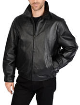 Excelled Leather Classic Open Bottom Jacket